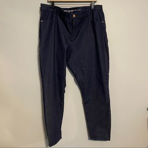 OLD NAVY plus size mid rise super skinny jeans